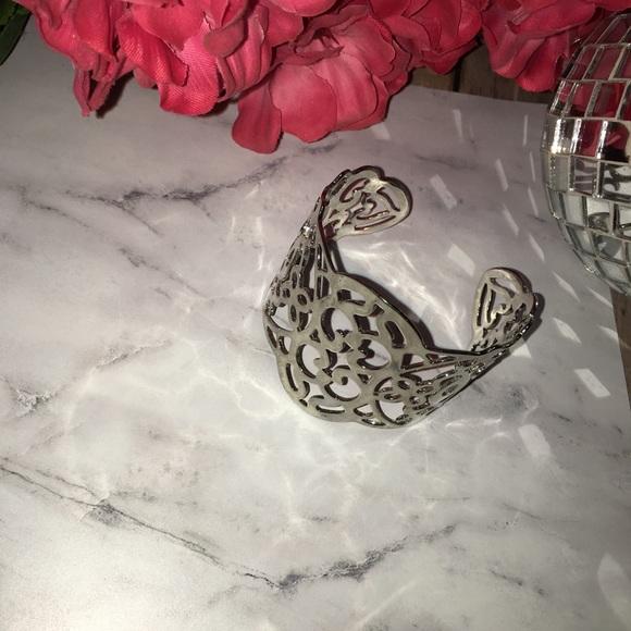 Lia Sophia silver cuff